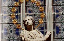 Prosba o modlitbu za mariánský sloup