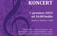 Pozvánka na adventní koncert 7.12.2019