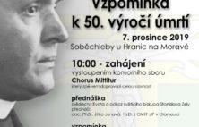 Vzpomínka k 50. výročí úmrtí světícího biskupa Stanislava Zely