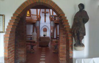 Nový svícen v kapli Sv. Ducha